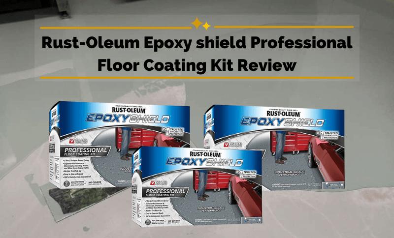 Rust-Oleum Epoxy Shield Professional Floor Coating Kit Review