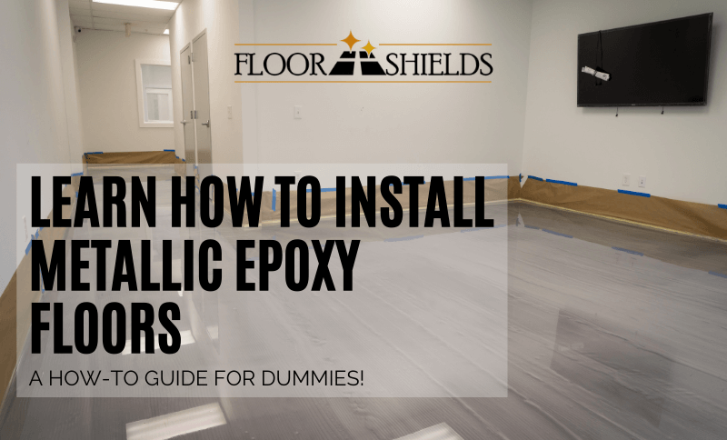 Learn How To Install Metallic Epoxy Floors