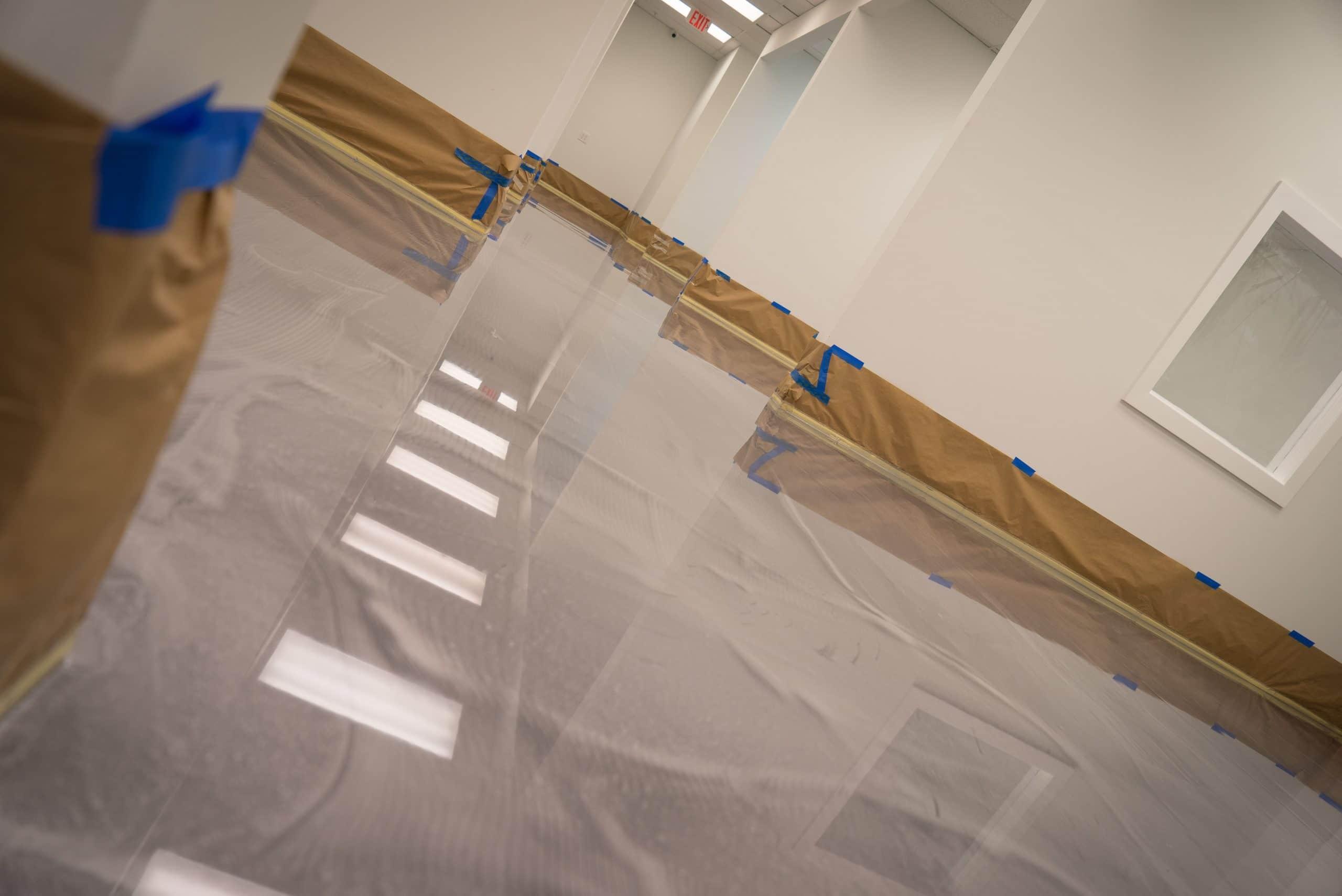 Silver Metallic Epoxy Flooring system