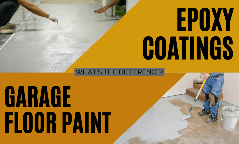 Garage Floor Paint vs Epoxy Coatings: What's The Difference?