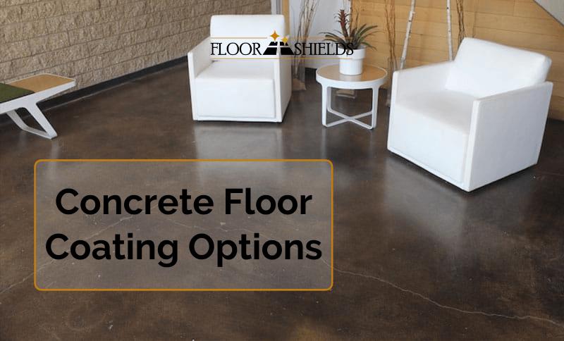 Concrete floor coating options
