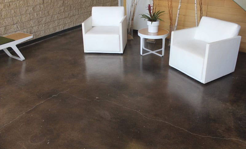 Concrete floor coating options