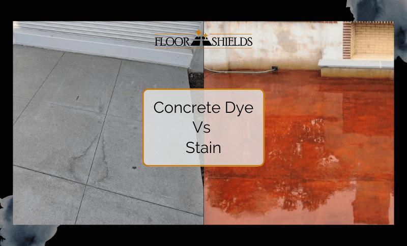 Concrete Dye Vs Stain