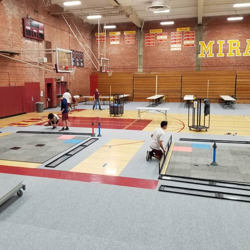 Gym Floor Covering